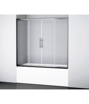 Шторка стеклянная для ванны Wasser Kraft Amper 29s