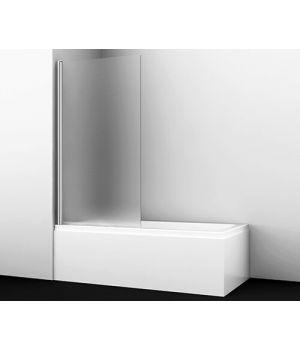 Стеклянная шторка на ванну WasserKRAFT Berkel 48P01-80L Matt glass