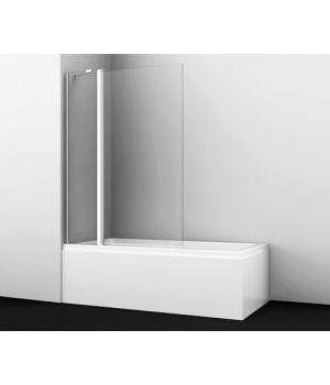 Стеклянная шторка на ванну Berkel 48P02-110 Fixed