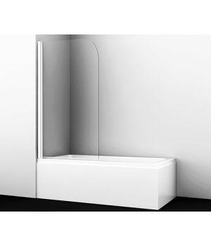 Стеклянная шторка на ванну Leine 35P01-80WHITE