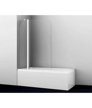 Стеклянная шторка на ванну Leine 35P02-110 Fixed