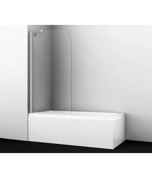 Стеклянная шторка на ванну Leine 35P01-80 Fixed