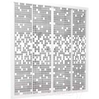 Штора для ванны 170 стекло мозаика (Тритон)